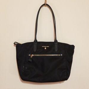 Michael Kors Nylon & Leather Handbag
